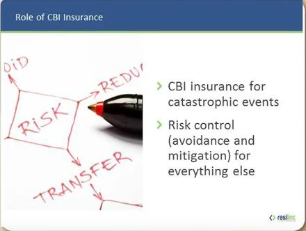 CBI insurance considerations for SCRM